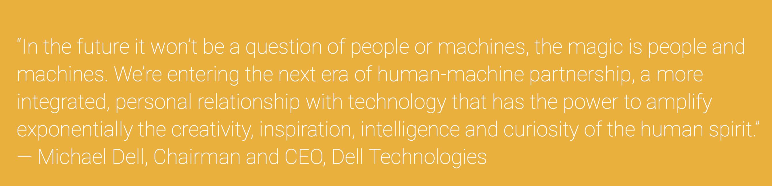 Human Machine Partnerships